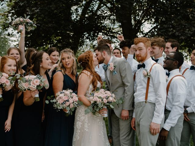 Nate and Hannah's Wedding in Wakarusa, Indiana 29