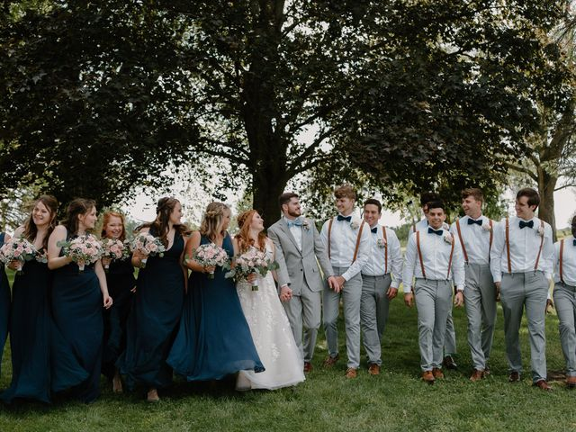 Nate and Hannah's Wedding in Wakarusa, Indiana 30