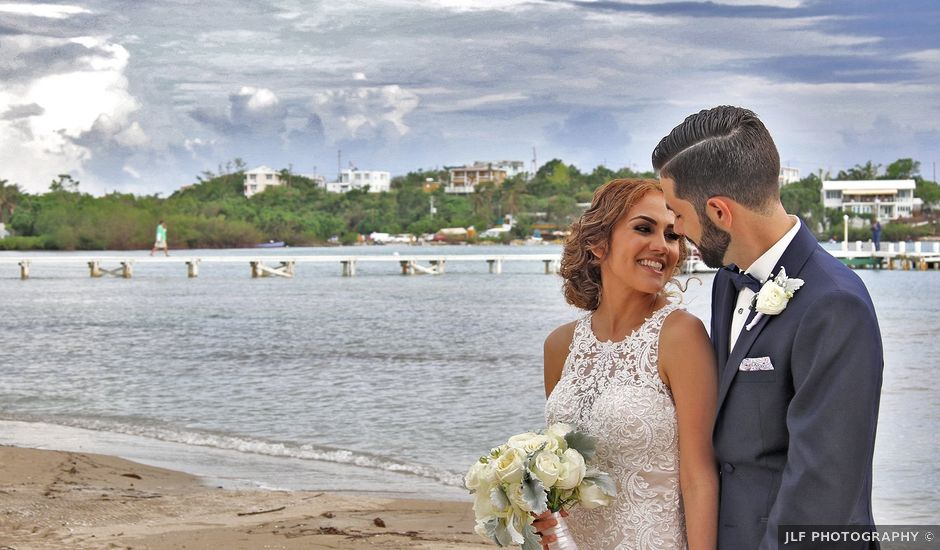 Juance and Giselle's Wedding in Lajas, Puerto Rico