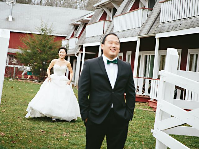 Aeri and Young's Wedding in Catskill, New York 4