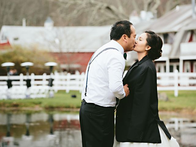 Aeri and Young's Wedding in Catskill, New York 5