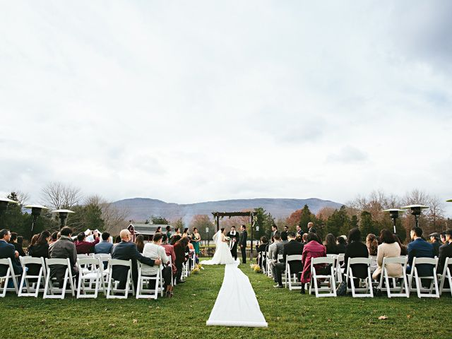 Aeri and Young's Wedding in Catskill, New York 14