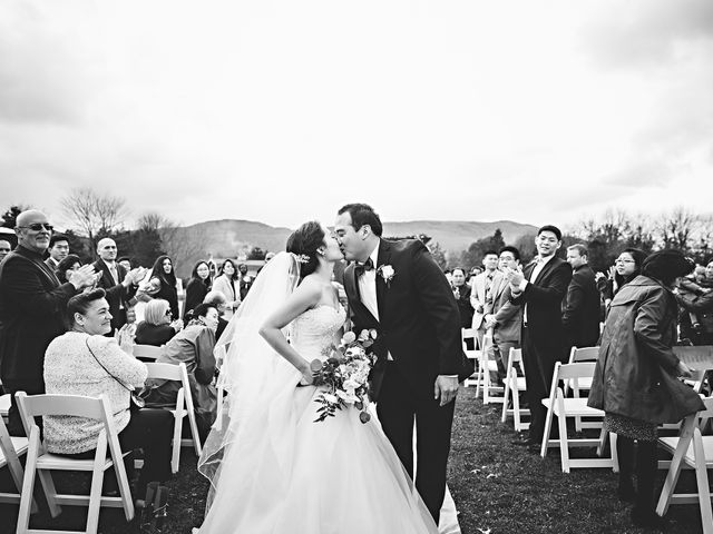 Aeri and Young's Wedding in Catskill, New York 16