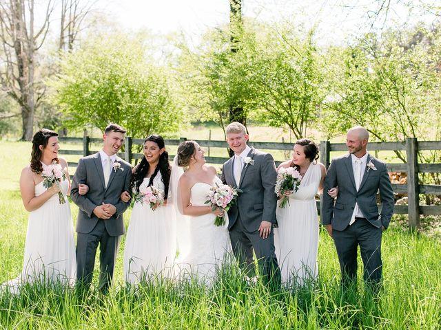 Shannon and Ryan's Wedding in Ellijay, Georgia 10