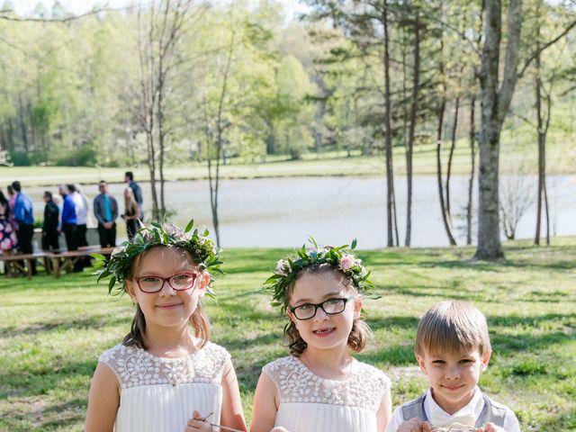 Shannon and Ryan's Wedding in Ellijay, Georgia 14