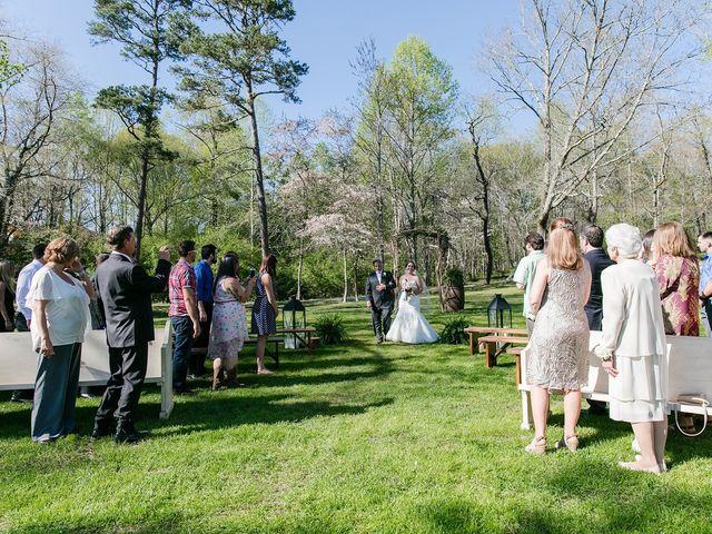 Shannon and Ryan's Wedding in Ellijay, Georgia 15
