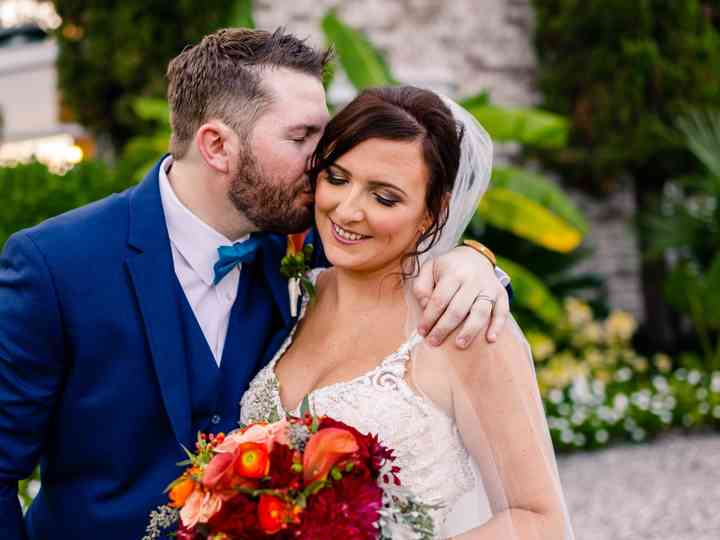 The wedding of Alisha and Brandon