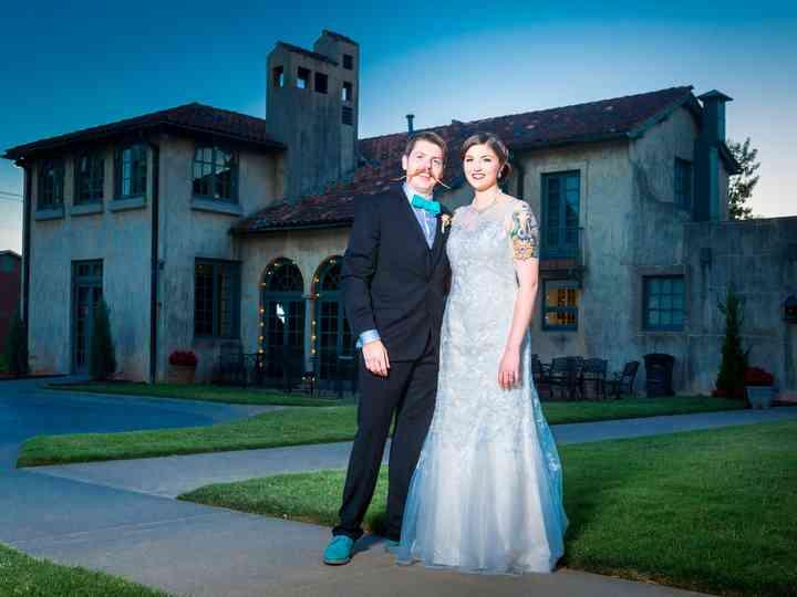 The wedding of Evan and Terrah