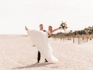 The wedding of Sonya and Christian