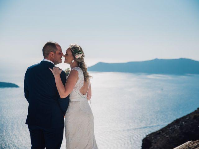 Jon and Jan's Wedding in Oia, Greece 7