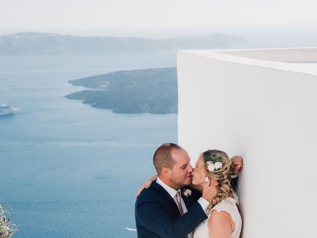 Jon and Jan's Wedding in Oia, Greece 8