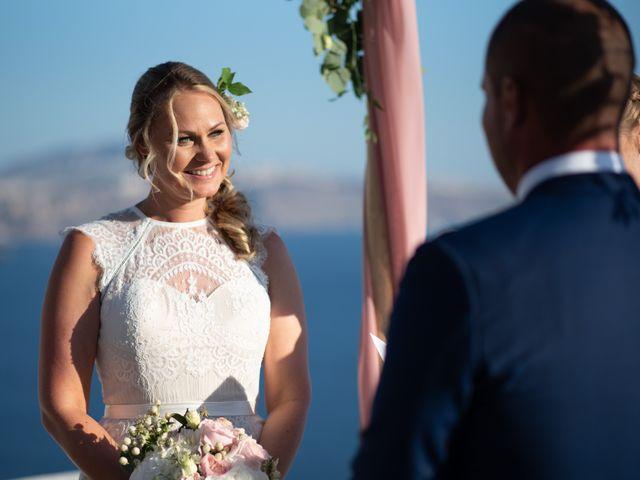 Jon and Jan's Wedding in Oia, Greece 15