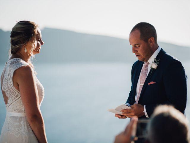 Jon and Jan's Wedding in Oia, Greece 17