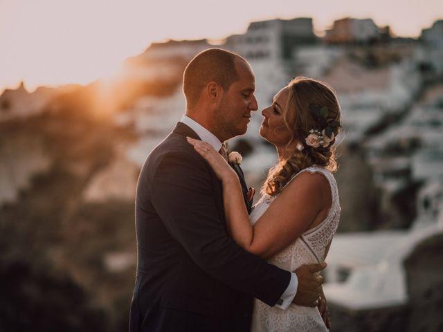 Jon and Jan's Wedding in Oia, Greece 22