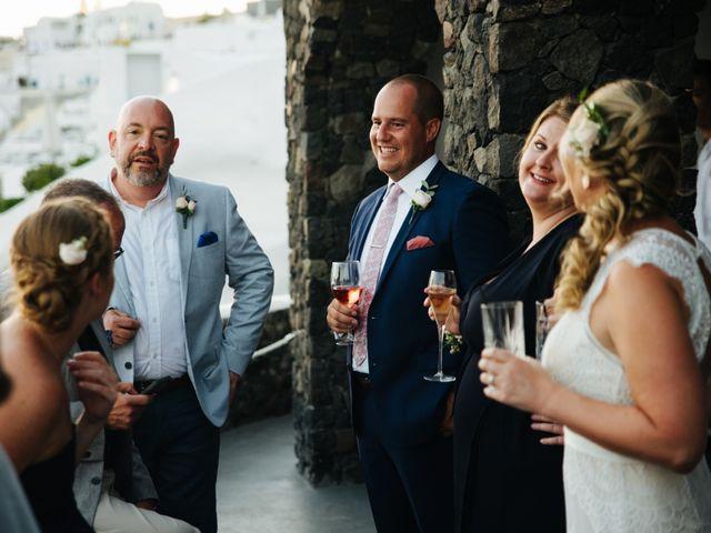 Jon and Jan's Wedding in Oia, Greece 24