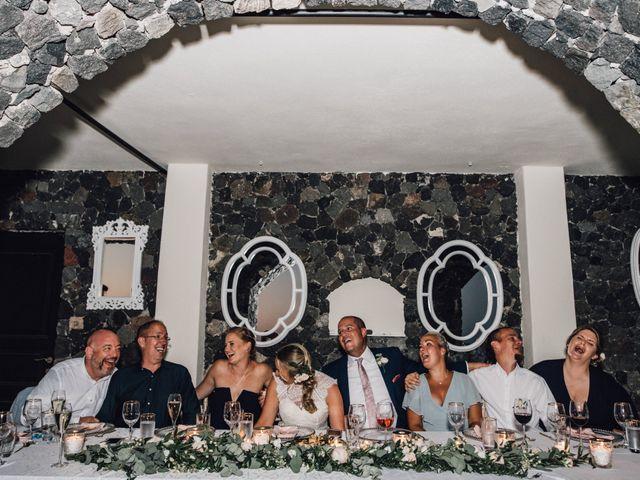 Jon and Jan's Wedding in Oia, Greece 26