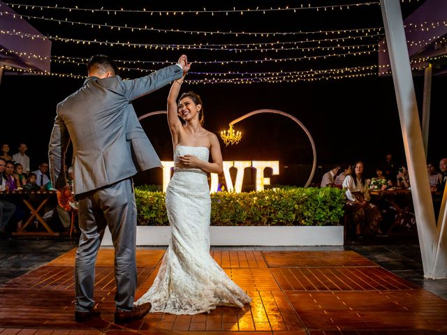 Anthony and Edythia's Wedding in Cancun, Mexico 15