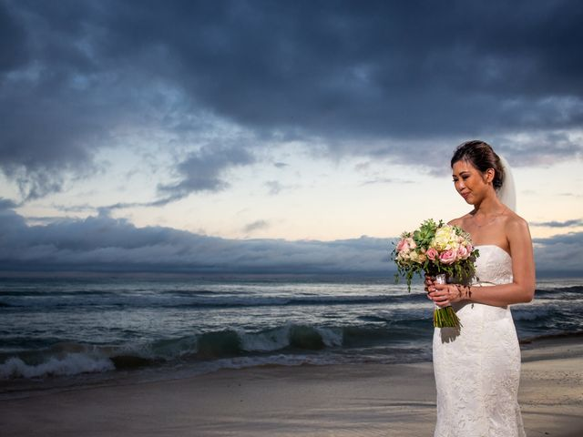 Anthony and Edythia's Wedding in Cancun, Mexico 14