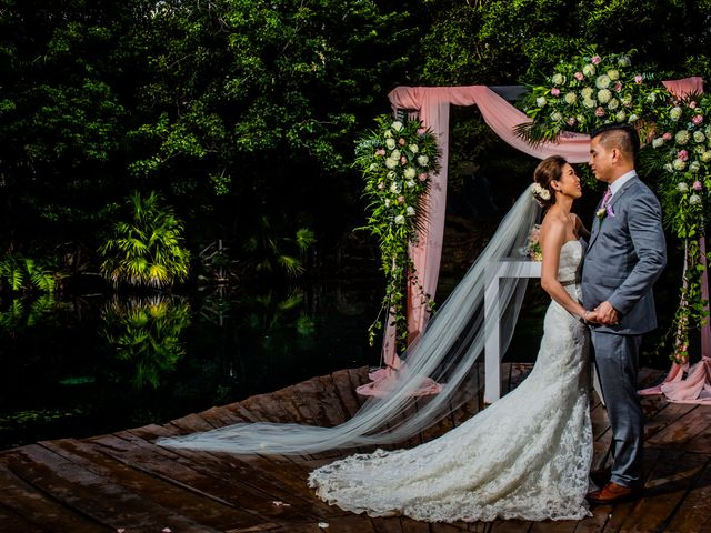 Anthony and Edythia's Wedding in Cancun, Mexico 8