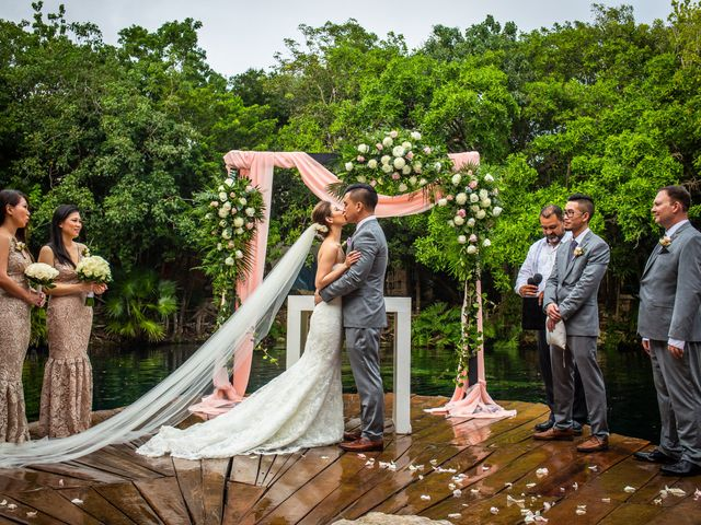 Anthony and Edythia's Wedding in Cancun, Mexico 2