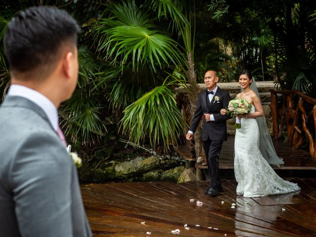 Anthony and Edythia's Wedding in Cancun, Mexico 6
