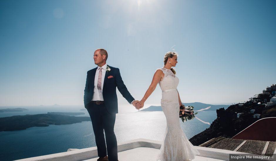 Jon and Jan's Wedding in Oia, Greece