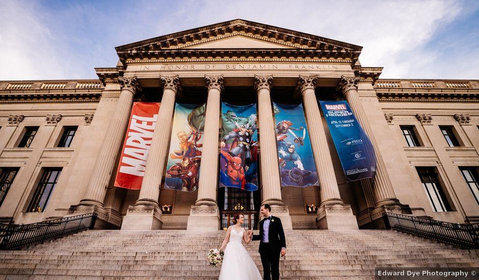 Vlad and Dinora's Wedding in Philadelphia, Pennsylvania