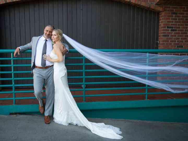 The wedding of Christina and Jonathan