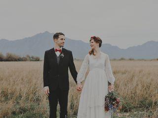 The wedding of Rachel and Gerard