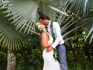 The wedding of Christian and Derek