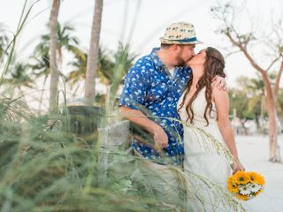 The wedding of Eryka and Michael