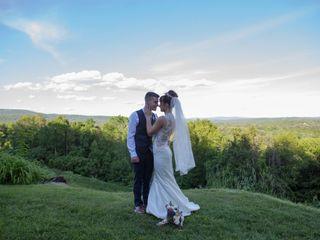 The wedding of Kirsten and Ben
