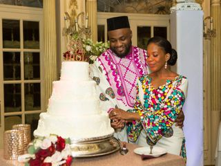 The wedding of Ashley and Placide 1