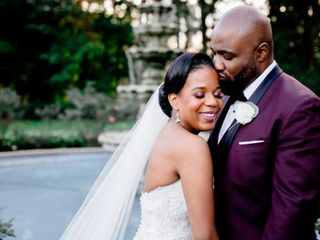 The wedding of Ashley and Placide