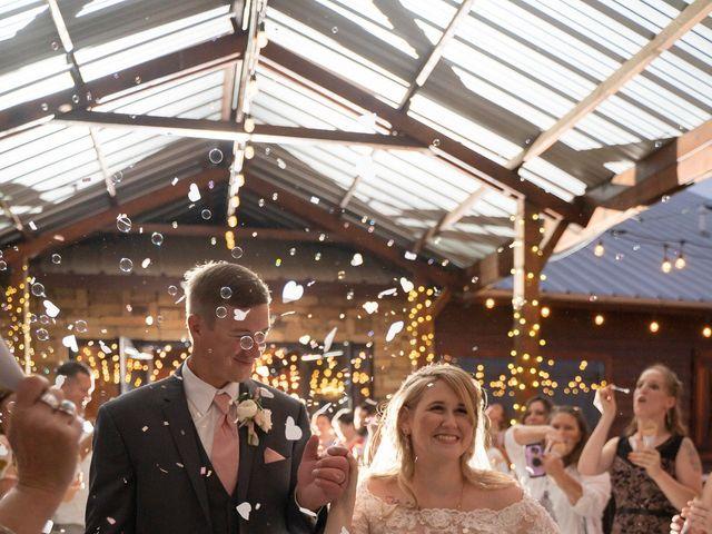 Ryan and Shelby's Wedding in Washington, Oklahoma 10