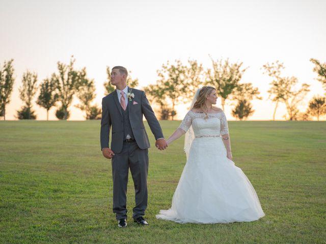 Ryan and Shelby's Wedding in Washington, Oklahoma 16