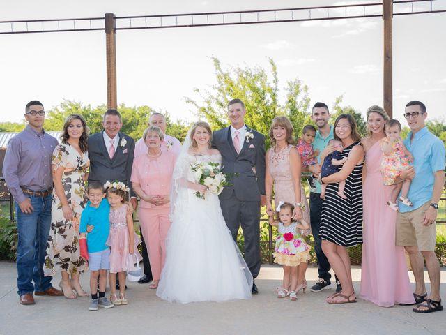 Ryan and Shelby's Wedding in Washington, Oklahoma 75