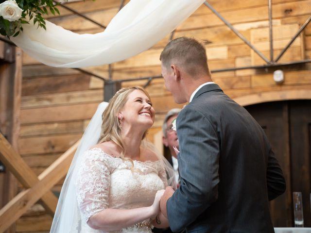 Ryan and Shelby's Wedding in Washington, Oklahoma 100