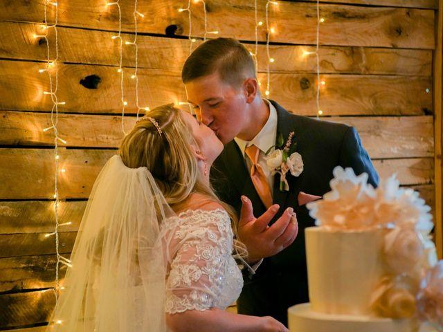 Ryan and Shelby's Wedding in Washington, Oklahoma 197
