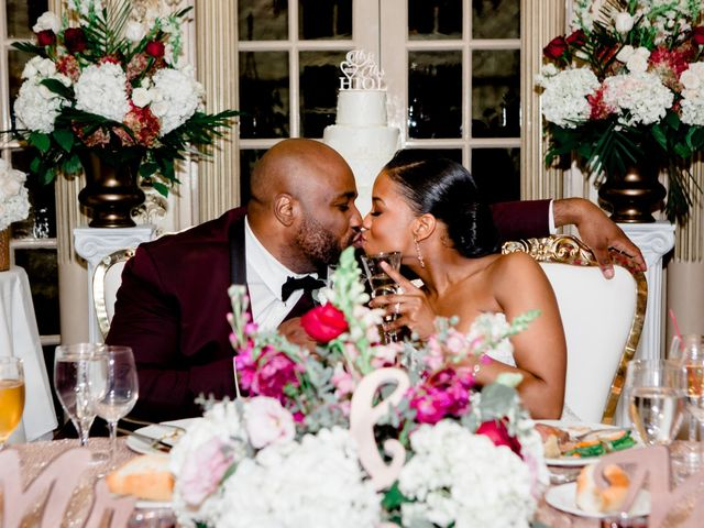 Placide and Ashley's Wedding in West Orange, New Jersey 4