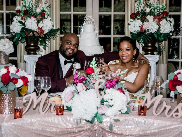 Placide and Ashley's Wedding in West Orange, New Jersey 5