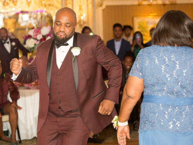 Placide and Ashley's Wedding in West Orange, New Jersey 7