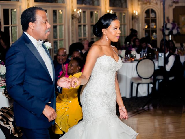 Placide and Ashley's Wedding in West Orange, New Jersey 10