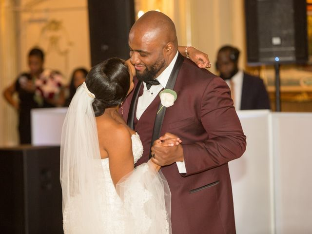 Placide and Ashley's Wedding in West Orange, New Jersey 12
