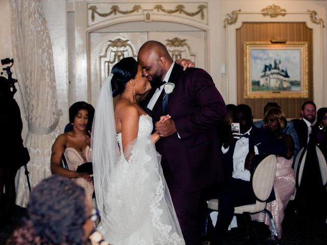 Placide and Ashley's Wedding in West Orange, New Jersey 13