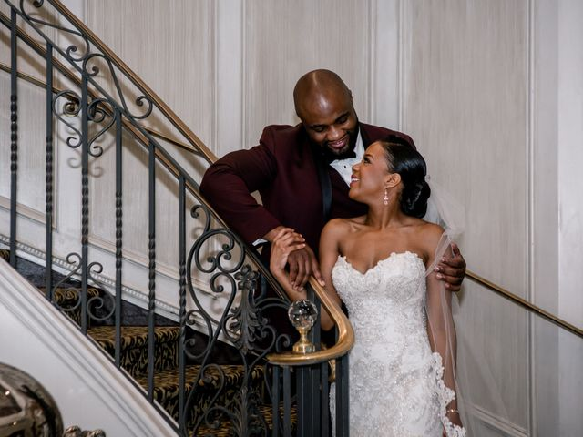 Placide and Ashley's Wedding in West Orange, New Jersey 18