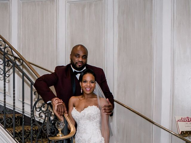 Placide and Ashley's Wedding in West Orange, New Jersey 19