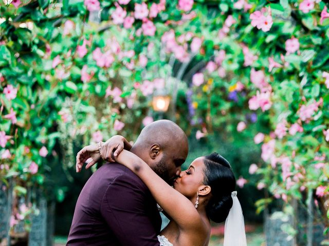 Placide and Ashley's Wedding in West Orange, New Jersey 24
