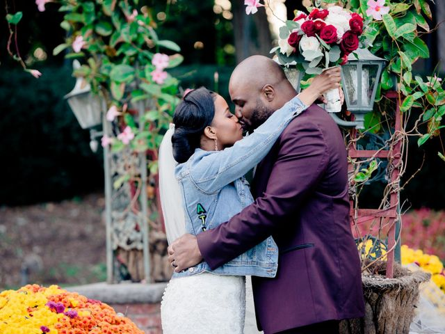 Placide and Ashley's Wedding in West Orange, New Jersey 29