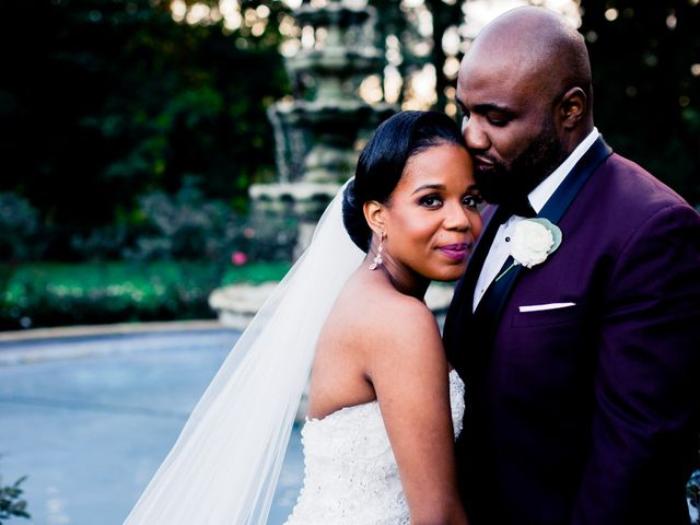 Placide and Ashley's Wedding in West Orange, New Jersey 31